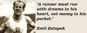 Emil zatopek famous quotes 1