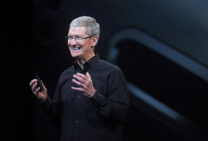 Tim Cook appeared to get angry at the insistence of the think tank at ...