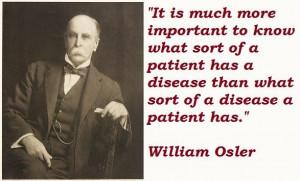 William osler famous quotes 2