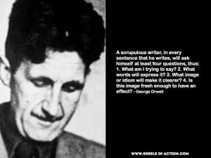 What's your favourite piece of writing from Orwell?