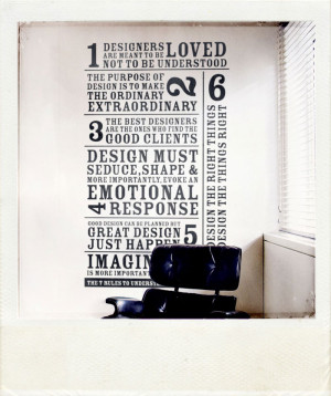 GOOD TYPOGRAPHY, AND DESIGN QUOTES