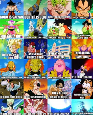 Lol dbz poem collage