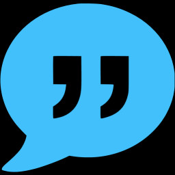 Caribbean blue quote icon - Free caribbean blue forum icons