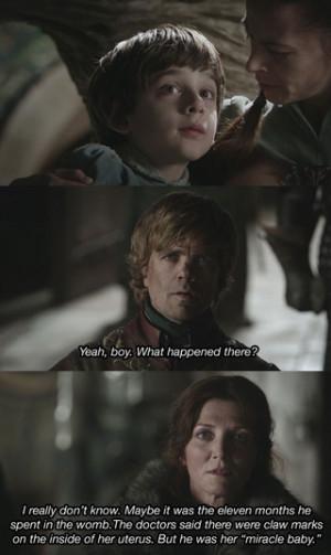 Game of Thrones Scenes + Arrested Development Quotes = Pure Magic