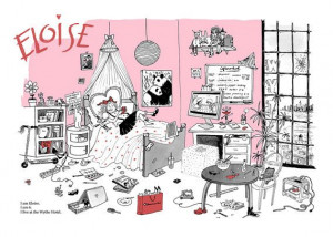 Eloise Moves To Brooklyn Limited Edition Print by JoanaAvillez, $40.00