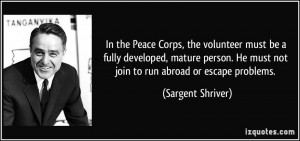 More Sargent Shriver Quotes