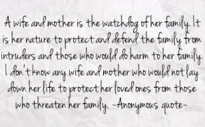 Quotes About Protecting Family