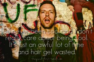 Chris Martin #Chris Martin quotes #quotes #celebs #celebrity quotes # ...