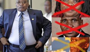 Zuma announces far-reaching cabinet reshuffle, suspends Cele