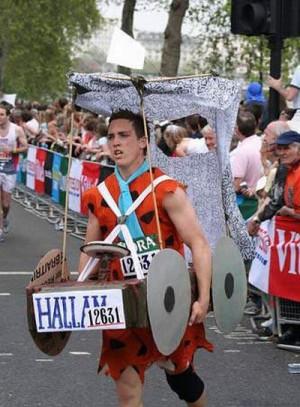 Funny Marathon Pictures Funny marathon runner picture