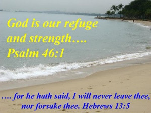 These are 2 of my favourite Bible verses. Hope you like it too.