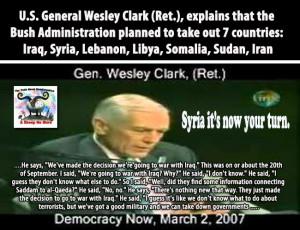 Video) The War Plan -- According to (Ret.) U.S. General Wesley Clark
