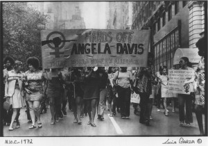 Black feminists picked up freeing Angela Davis as an issue, but this ...