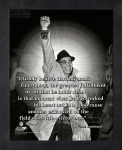 ... -Lombardi-Green-Bay-Packers-8x10-Black-Wood-Framed-Pro-Quotes-Photo