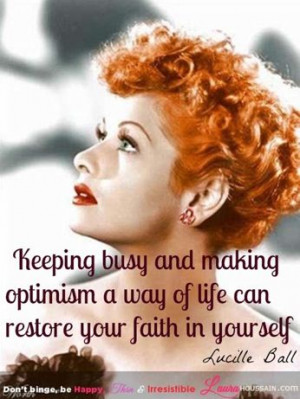 Quote of the Day by Lucille Ball