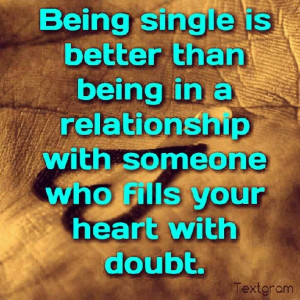 Instagram Quotes About Being Single ~ Being single | Quotes that I ...