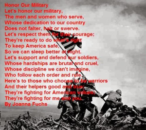 The last meaning veterans is an celebrative peoms about Veterans Day ...
