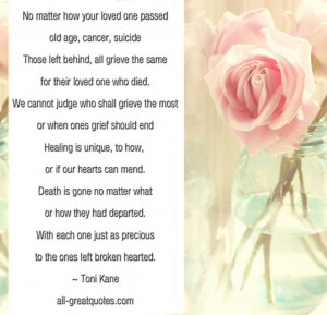 ... Death And Remembrance Quotes. View Original . [Updated on 09/28/2014