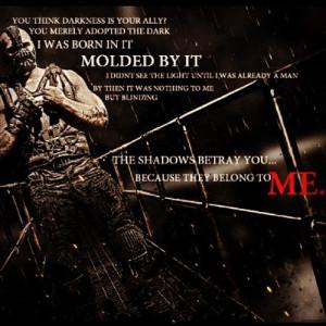 Bane #darkknightrises #Tomhardy #Batman #quotes by waffles_n_brains ...