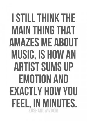 about music