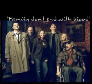 Sam, Dean, Castiel, Bobby, Ellen and Jo ~ Supernatural