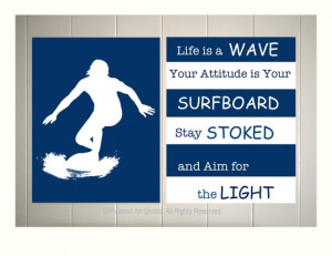 ... poster, surfing, inspirational surf quotes, inspirational art for boys