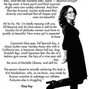 ... We Love Tina Fey: Her Comment On Kim Kardashian's Recent Nude Pics