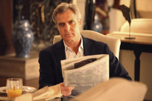 Henry Czerny as Conrad Grayson in a photo from the January 20, 2013 ...