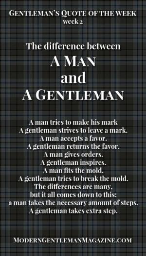 ... gentleman. Gentleman always gives its best. www