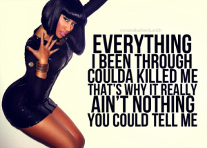 nicki minaj quotes about girls