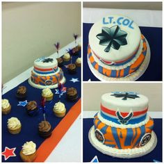 ceremony # cake by cupcake wives # airforce # promotion # militarycake ...