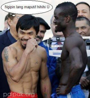 GLEE ID :: Funny-Pacquiao-vs-Clottey.jpg picture by adrenalinejunkie96 ...