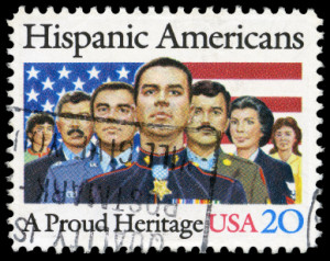 Hispanic Americans Postal Stamp