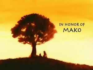 Lu Ten In Honor of Mako