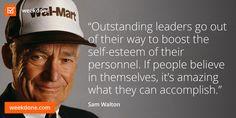 sam walton knows leadership # personnel # confidence # leadership ...