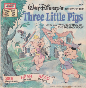 ... Disney Storyteller Pinocchio/The Three Little Pigs (BOOK AND CASSETTE