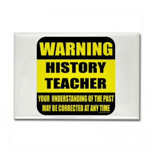 History Teacher Fridge Magnets | History Teacher Refrigerator Magnets ...