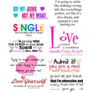 love single love quotes single love quotes single taken love life ...