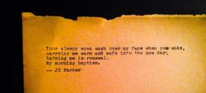 love quotes #sleepy #morning #renewal #typewriter