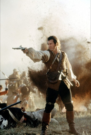 The Patriot is an old fashioned, grand spectacle of war for a cause ...