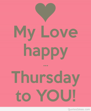 ... soon:D Happy Thursday, Happy Hump Day and Happy weekend my friend