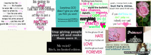 Girly Quotes Cover Comments