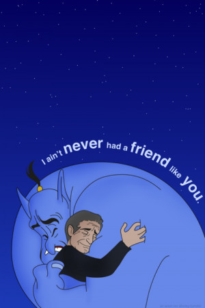 ... for this image include: robin williams, rip, aladdin, genie and friend