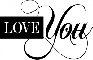 Love You Artistic Wall Stickers Love Quotes Wall Quotes Wall Art Decal ...