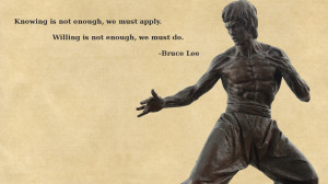 ... not enough we must apply willing is not enough we must do this quote