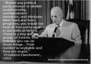 Dwight D. Eisenhower served as President of the United States from ...