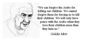 Golda Meir on Children and War