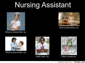 nursing what friends think patients
