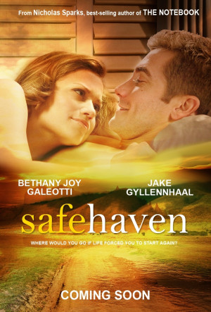 Nicholas Sparks' novels & movies Safe Haven Movie Poster