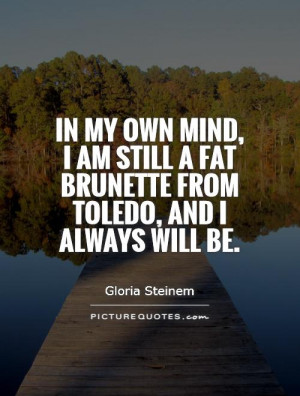 Brunette Quotes
